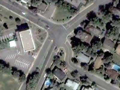 5-way intersection No. 7
