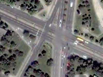 5-way intersection No. 8