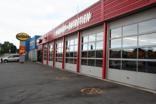 Midas shop on St. Jacques