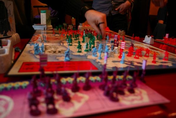 Samurai Swords game at Geek Montreal's GeekOut