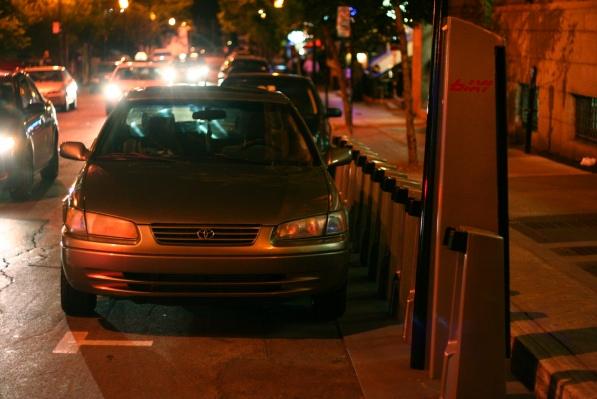 Bixi parking