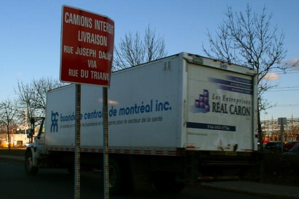 Camions interdit