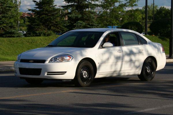 Invisible cop car