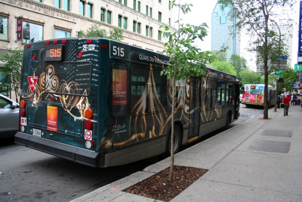 515 bus with Casino wrap