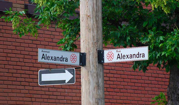 Alexandra Avenue and Alexandra Street