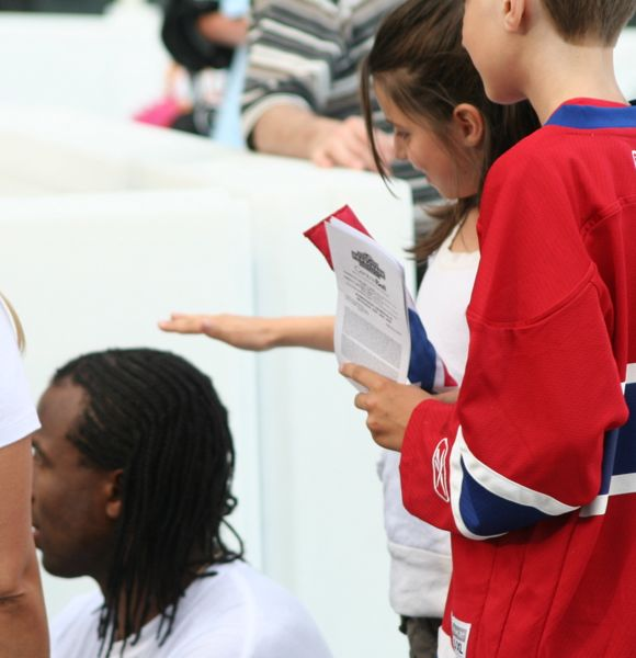 You may not know this, but Georges Laraque's head has magical powers.