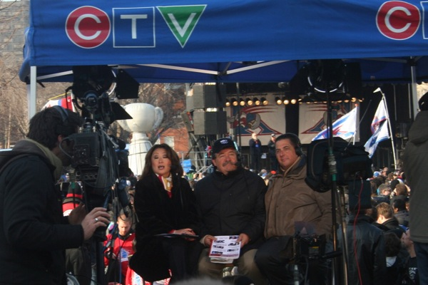 The CTV tent