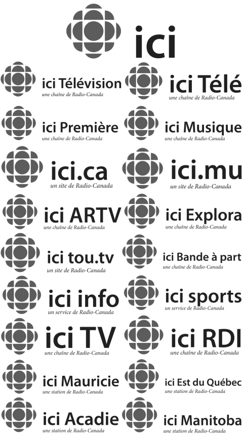 Some of the trademarks registered to CBC