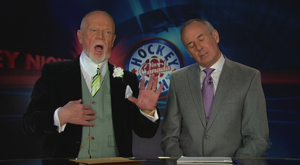 Don Cherry and Ron MacLean 1
