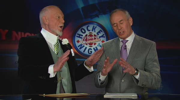 Don Cherry and Ron MacLean 3