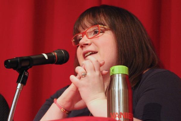 Sports reporter Robyn Flynn