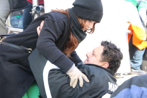 Amanda Stein and Tony Marinaro
