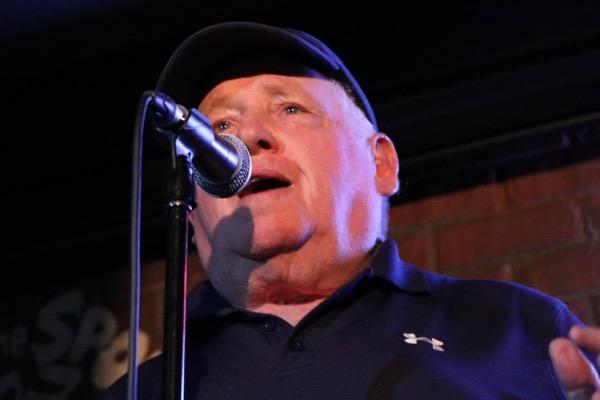 Pat Hickey hones his storytelling skills
