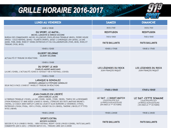 91.9 Sport schedule (click for PDF)