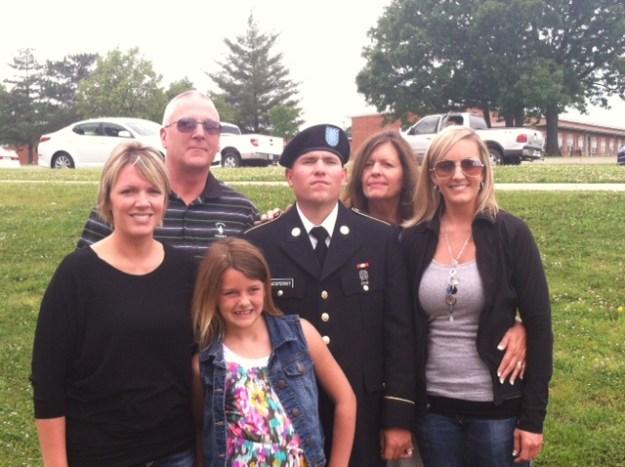John McSperritt and family