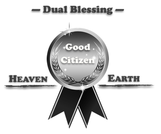 award good citizen dual blessing