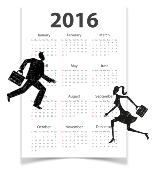 man woman calendar 2016 if the Lord wills