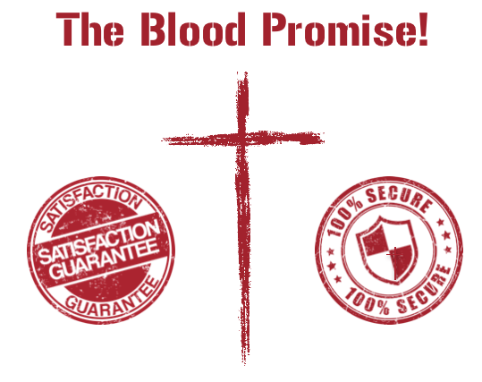 blood promise guarantee secure stamps
