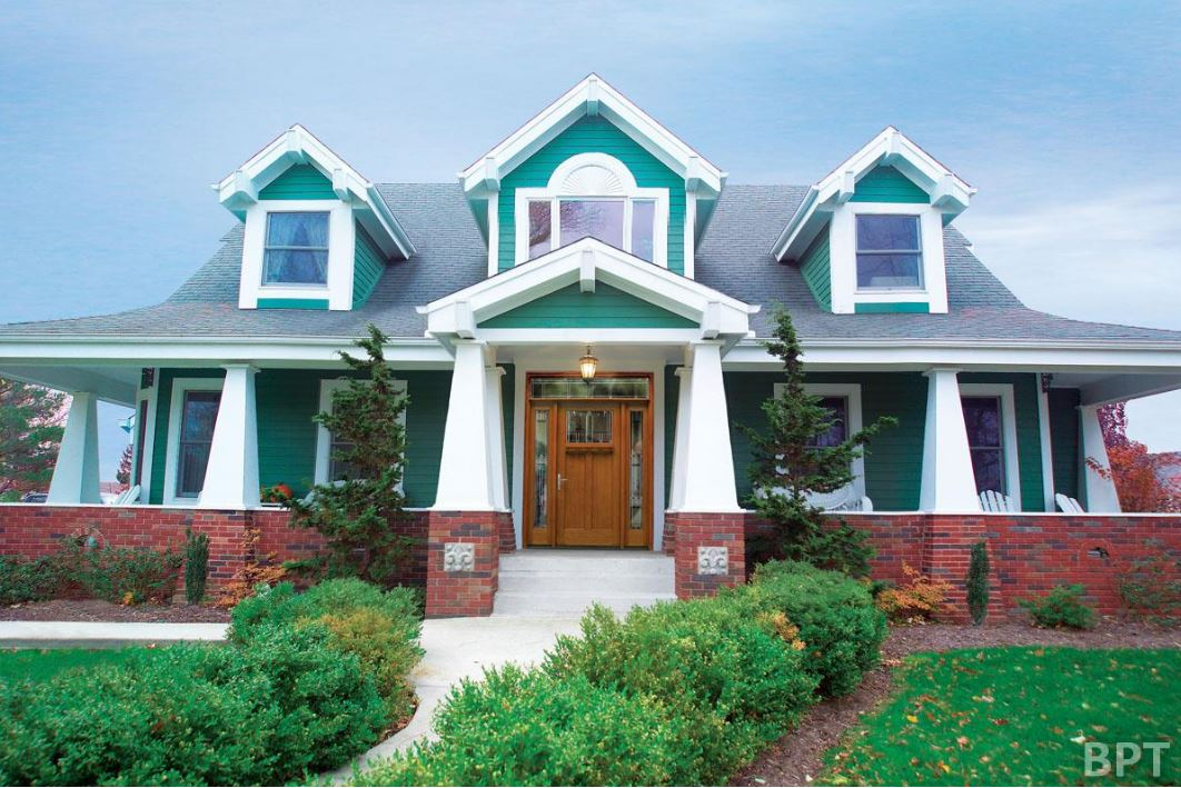 How to choose bright exterior paint family home plans blog - Bright paint colors for exterior house ...