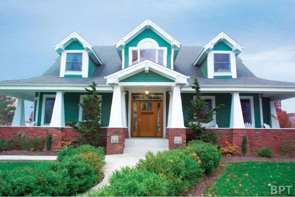 How to Choose Bright Exterior Paint - Family Home Plans Blog