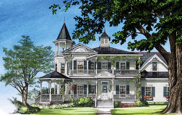 Victorian dream house plan family home plans blog for Building our dream home blog