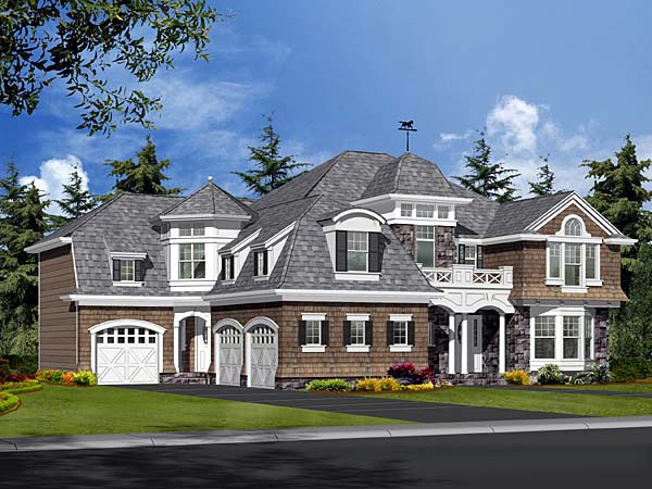 European Country Home Plan Family Home Plans Blog
