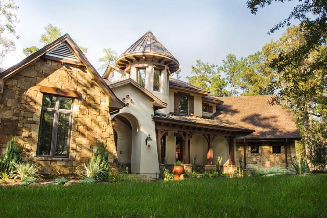 French Country House Plan with Photos