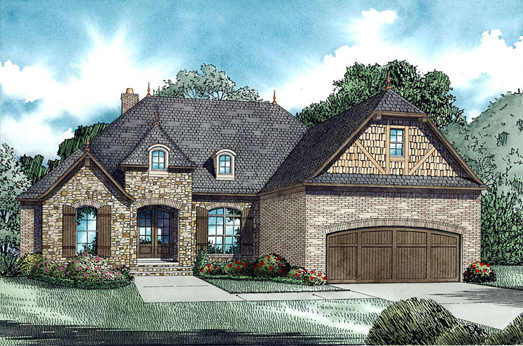 New 4 Bedroom European House Plans Family Home Plans Blog
