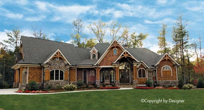 New Craftsman House Plan with Photos