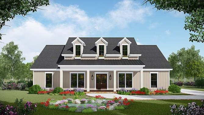 Country Style 3 Bedroom House Plans