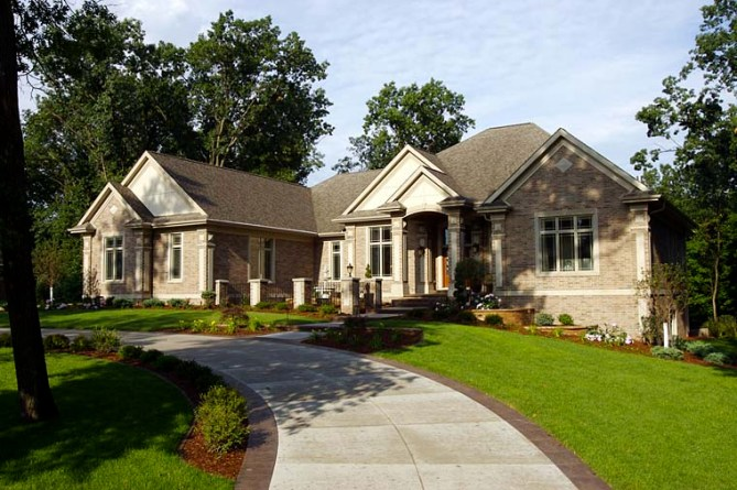 Luxury House Plan with Photos