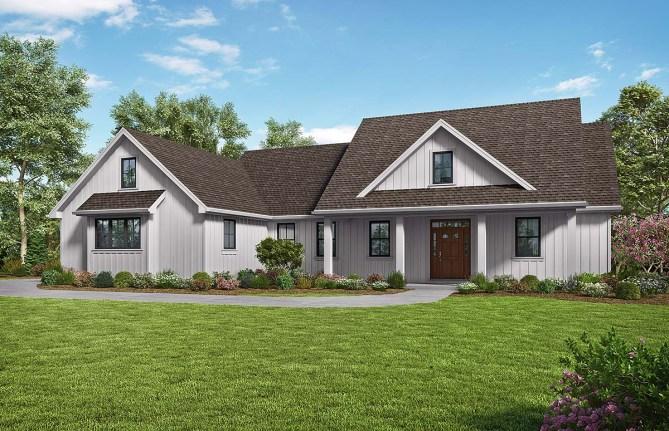 Modern Farmhouse Plan With 2104 Square Feet