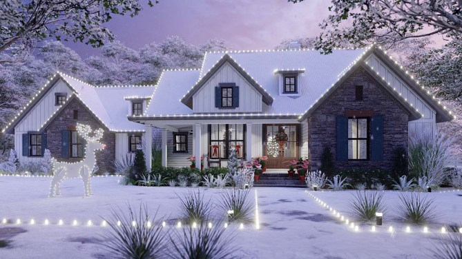 New Traditional House Plan With 1988 Square Feet