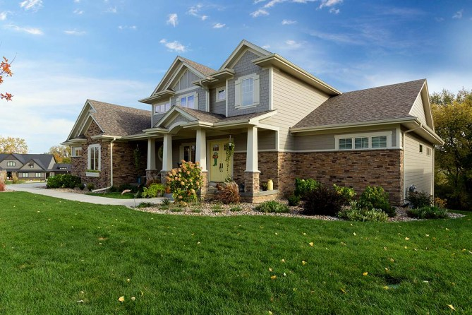 New 5 Bedroom Traditional Home Plan With 4853 Square Feet