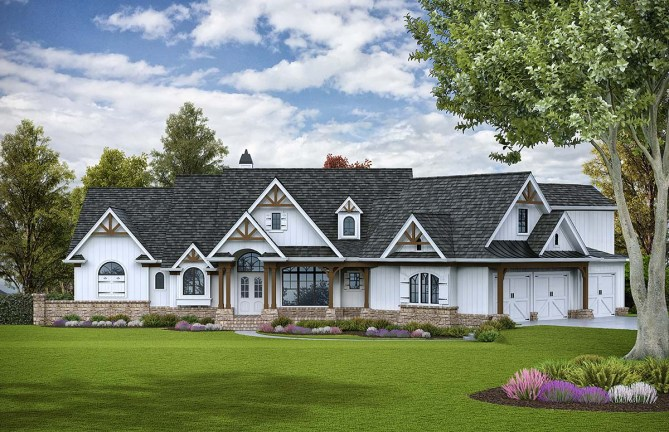 5 Bedroom House Plan With Luxury Outdoor Living Space
