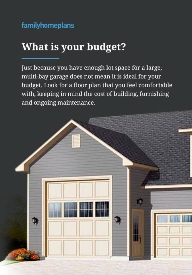 Budget for Building a Garage
