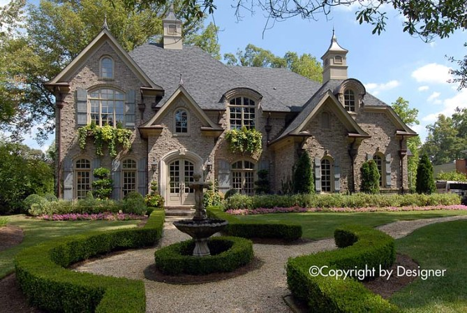 French Country House Plan With 5000 Square Feet