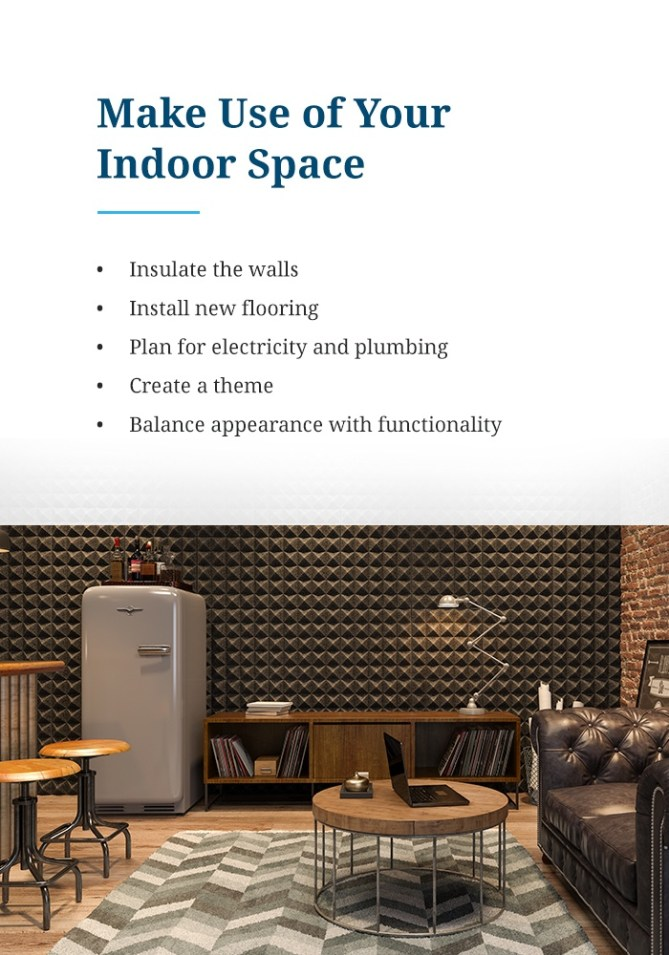 Make Use of Your Indoor Space