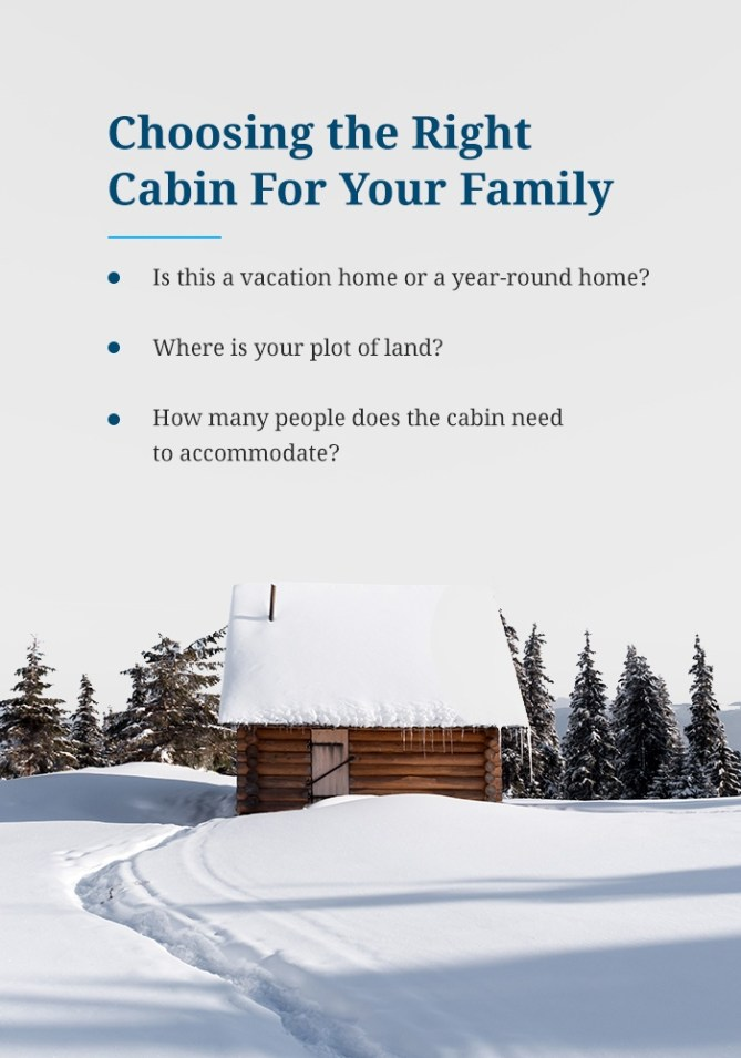 Choosing the Right Cabin for Your Family