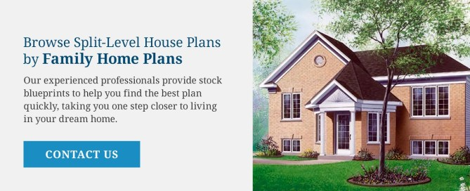 Browse Split Level House Plans