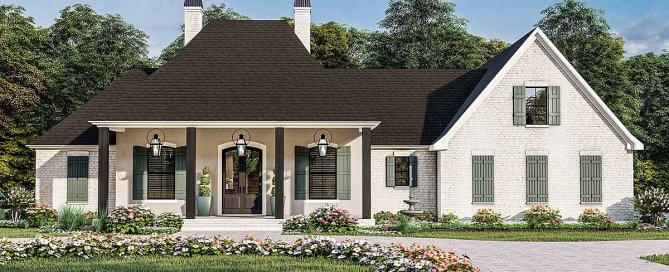 French Acadian House Plan
