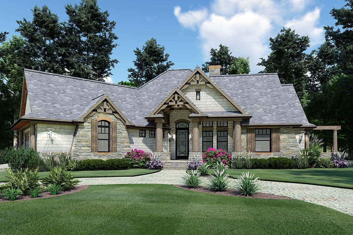 Craftsman House Plan With Bonus Room