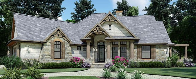 Craftsman House Plan With Bonus Room