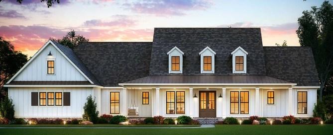 5 Bedroom Farmhouse Plan
