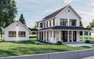 Modern Farmhouse Plan