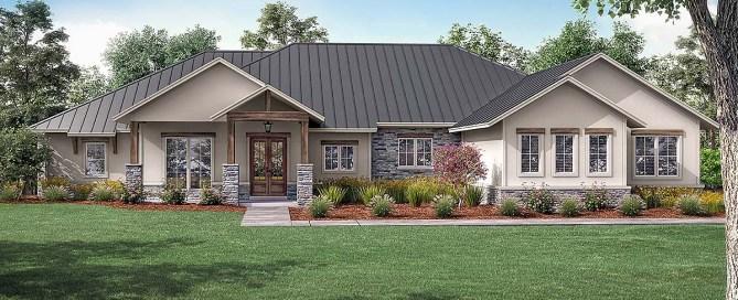 Texas Ranch House Plan