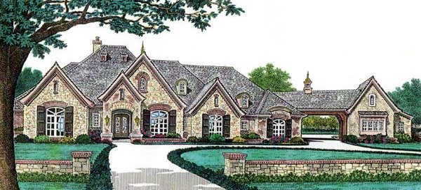 French Country Home Plan