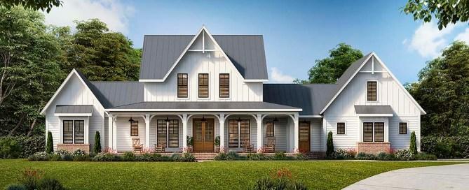 4 bedroom farmhouse plan