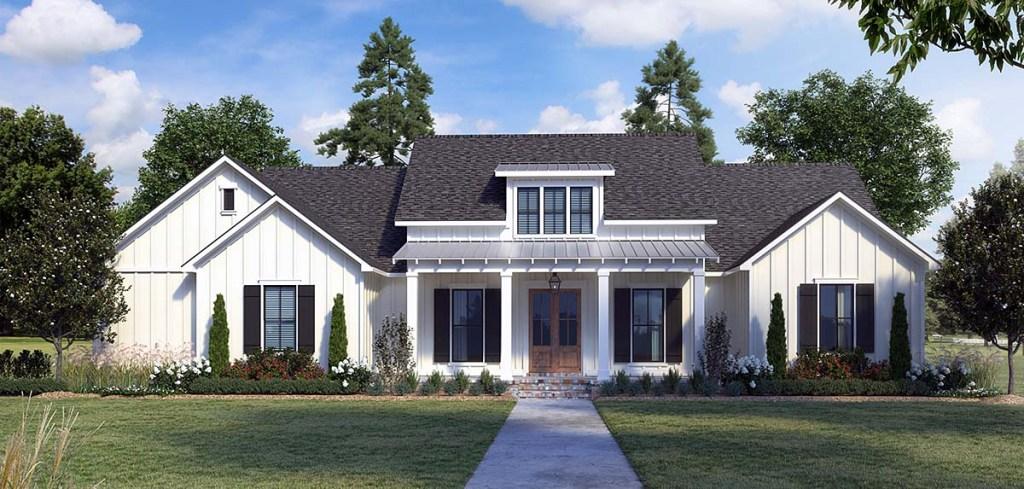 Country Farmhouse Plan