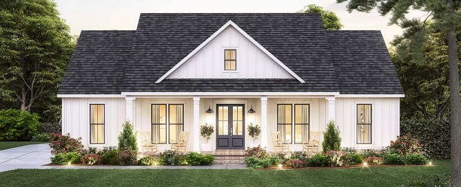 Country Style Home Plan